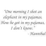 Animal Crackers - Hannibal