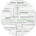 How to say Bon appetit - Green
