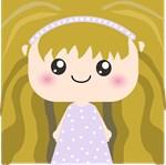 Cute Cartoon Girl Squeable