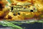WWII Swordfish Biplane