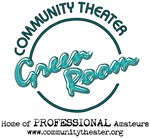 Community Theater Green Room Logo Merchandise