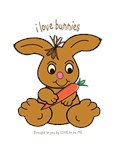 I LOVE BUNNIES - LOVE TO BE ME