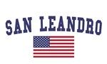 San Leandro US Flag