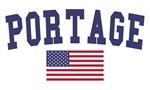 Portage Wi US Flag