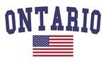 Ontario US Flag