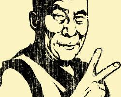 PEACE! Dalai Lama