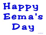 Happy Eema's Day