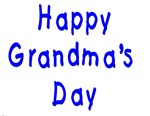 Happy Grandma's Day