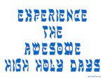 Experience Awesome Holy Days