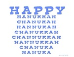 Happy Hanukka Chanukah Hanukah