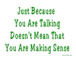 Making Sense  Yiddish Saying