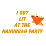 I Got Lit At the Hanukkah Party