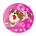 Bulldog Pink Ribbon