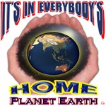 PLANET EARTH=HOME