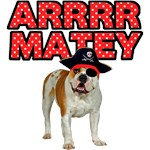 Pirate Bulldog Dog