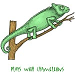 Plays With Chameleons T-Shirts