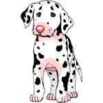 Dalmatian Puppy Cartoon