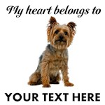 Personalized Silky Terrier