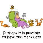 Too Many Cats T-Shirts