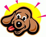 Happy Dachshund Cartoon
