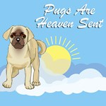 Heaven Sent Pug T-Shirts