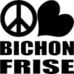 Peace Love Bichon Frise