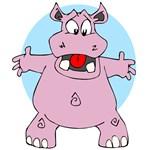 Hippo Hug T-Shirt