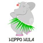 Hippo Hula T-Shirt