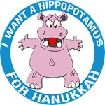 Hippopotamus for Hanukkah T-Shirt