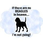 Beagles In Heaven T-Shirts
