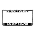 Bearded Dragon License Plate Frames