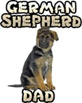 German Shepherd Dad T-Shirts
