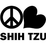 Shih Tzu T-Shirt - Peace Love