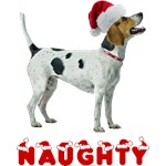 Foxhound Christmas Naughty