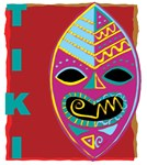 Tiki Mask | Masks of the World Exotica T-shirts & Gifts