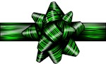 Green Zebra Bow