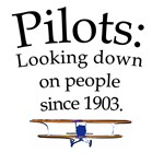 Pilots: Looking down on people since 1903