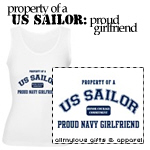 Property of a US Sailor: Proud Navy Girlfriend