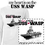 USS Wasp T-Shirts and Gifts