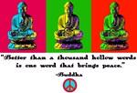 Buddha pop art