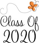 Class of 2020 Butterfly Graduate Gifts & Tees