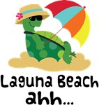 Laguna Beach California Turtle Tshirts
