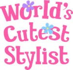 Worlds Cutest Stylist Gifts and T-shirts