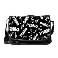 Music Messenger Tote Bags