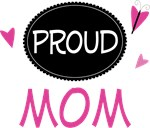 Proud Mom Butterfly T-shirts and Gifts