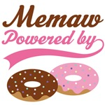 Memaw Powered By Donuts Gift