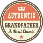 Authentic Grandfather Vintage Gifts and T-Shirts