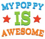 My Poppy Is Awesome T-shirts & Gifts