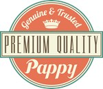 Premium Vintage Pappy  Gifts and T-Shirts