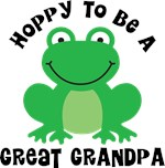 Hoppy to be a Great Grandpa Gifts and T-shirts
